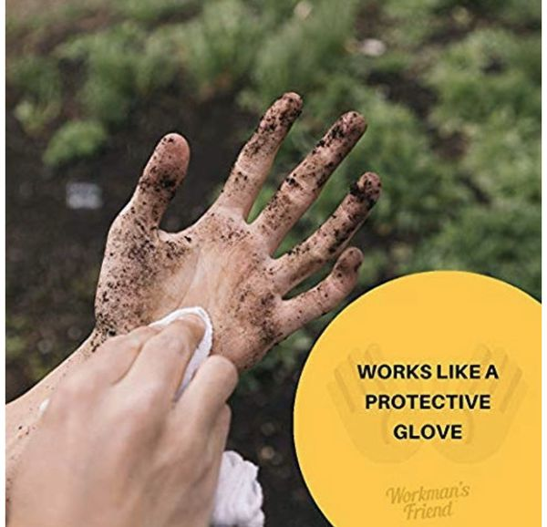Workman's Friend Barrier Working Hand Cream | Moisturizes & Provides Superior Hands Skin Barrier Protection From Grease, Glue, Dirt, Paint and Oils -