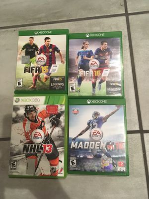 Xbox one and 360 games for Sale in Los Angeles, CA