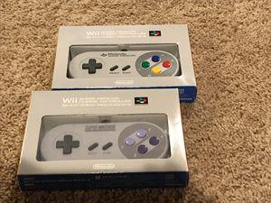 Club Nintendo Wii Nes Classic Wii U controllers for Sale in Tulsa, OK
