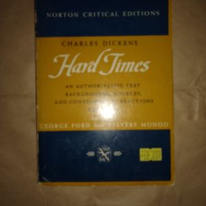Hard Times By Charles Dickens. Norton Publishing for Sale in Fort Myers, FL