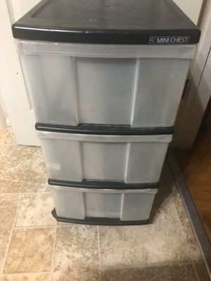 Plastic drawers for Sale in West Covina, CA