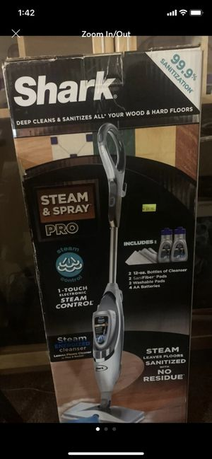 Shark steam and spray mop pro for Sale in Jurupa Valley, CA