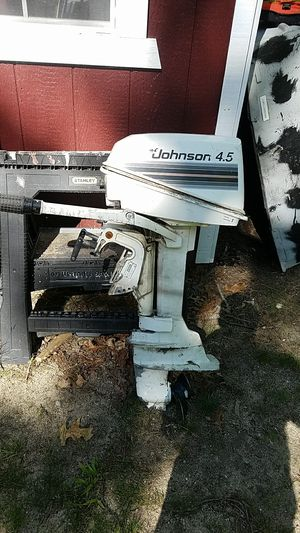 4.5 Johnson outboard motor for Sale in Plymouth, MA