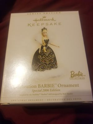 Barbie ornament 2006 edition for Sale in Brentwood, CA