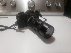 CANON AE1 w Vivitar 70-150mm zoom lense for Sale in Burien, WA