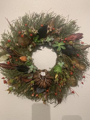 Holiday and winter wreath for Sale in Olympia, WA