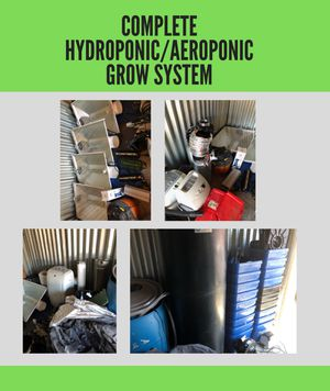 Complete hydroponic/aeroponic grow system - Equipment for Sale in Los Angeles, CA