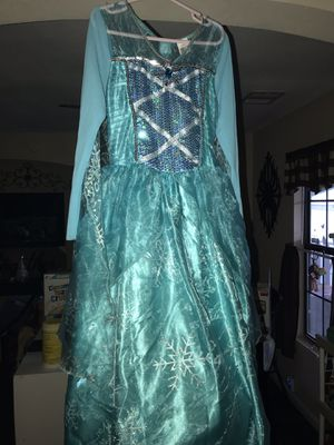Elsa Frozen Dress for Sale in Tomball, TX