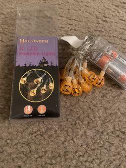 Spooky/Halloween pumpkin shaped decorative LED lights for Sale in Sacramento,  CA