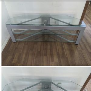 Glass TV Stand for Sale in Baldwin Park, CA