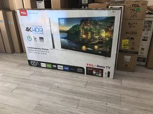 "65"" Tcl roku Smart 4K hdr tv $117 for Sale in Cudahy, CA"