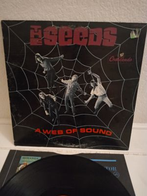 The SEEDS a web of sound 1966 Vinyl Record for Sale in Oceanside, CA