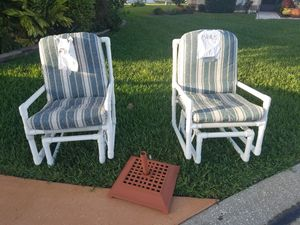 Patio PVC Rockers Free free for both for Sale in The Villages, FL