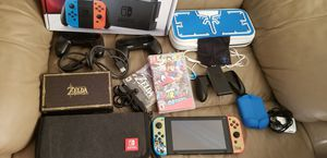 Nintendo Switch Zelds Bundle with 2 games and Extras - Accepting Trades for Sale in Atlanta, GA