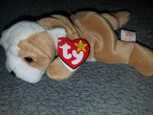 TY Original Beanie Baby WRINKLES - English Bulldog for Sale in Tampa, FL