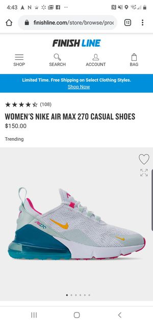Nike Air max 270 for Sale in Mesquite, TX