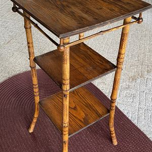 Antique 3-Tier Bamboo Stand for Sale in Charles Town, WV