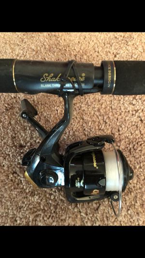 TWO BRAND NEW LIGHT WEIGHT FISHING RODS AND REEL. for Sale in Hayward, CA