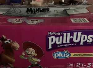 Diaper Size 2-3 T brand New..86 totally huggies pulled up for Sale in Phoenix, AZ
