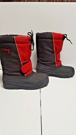 LL Bean Insulated Winter Snow Boots Kids Size 6 Removable Liners for Sale in Boulder, CO