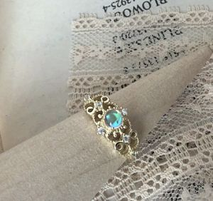 Moonstone 14k gold plated over sterling silver ring for Sale in Las Vegas, NV
