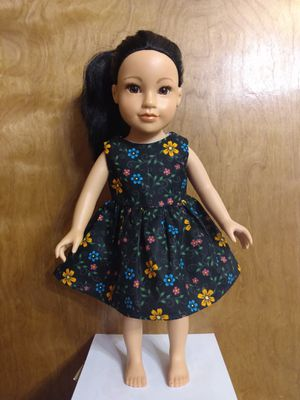 "American Girl Or 18inches Doll Dress Made to Fitit 18"" Dolls for Sale in Peoria, IL"