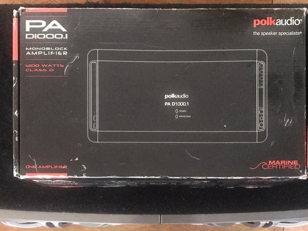 Polk Audio PA 1000 Monoblock Amplifier