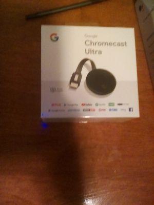 Chromecast ultra brand new still in box for Sale in Upper Gwynedd, PA
