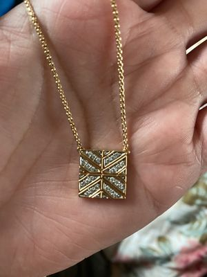 John hardy 18 k Gold diamond necklace for Sale in Los Angeles, CA