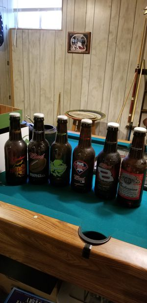 """15"""" Giant Glass Budweiser bottles for Sale in NORTH PENN, PA"""