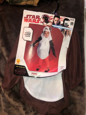 Child Halloween Costume Star Wars Porg Size 2T-3T Toddler for Sale in Fontana, CA