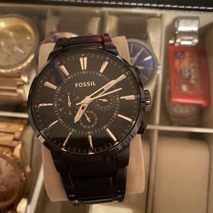 Fossil Watch, Black for Sale in Chino, CA