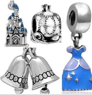 European Disney Princess Cinderella Charm Set for Sale in Tulalip, WA