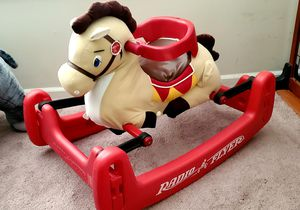 Like new condition, Rocking, bouncing pony with removable harness in like a new condition for Sale in Naperville, IL