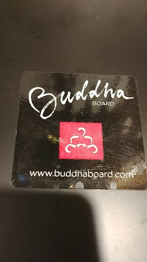 Buddha Board 12 by 9 inches paint with water it slowly disappears for Sale in Kent, WA