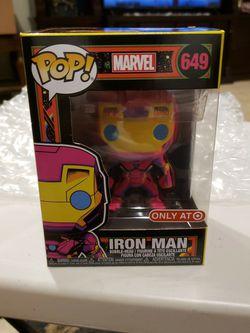 Funko Pop Iron Man Black Light for Sale in Whittier,  CA