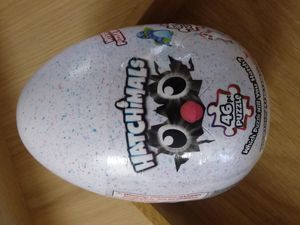 Hatchimals puzzle mystery egg - game - video - kids children + animal game puzzle table top for Sale in Naples, FL