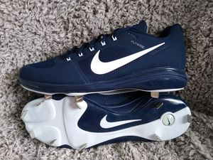 Nike air coop baseball cleats sz 12 shipping only no pickup for Sale in Apalachicola, FL