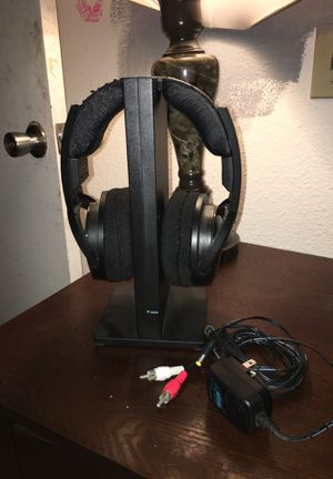Sony Wireless stereo headphones/surround sound for ur TV and for music for Sale in Chula Vista, CA