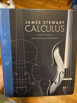 Calculus 8th edition Stewart ( Hard cover ) for Sale in Garden Grove, CA