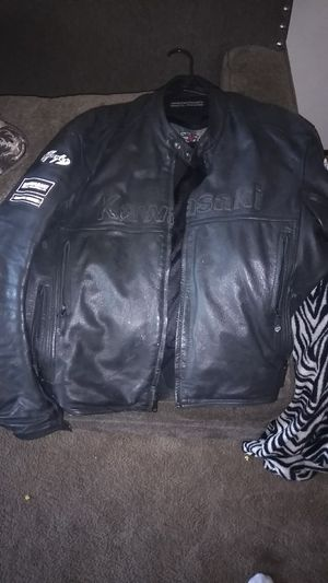 Joe rocket leather motorcycle jacket for Sale in La Mesa, CA