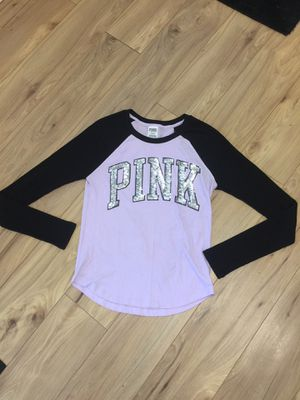 Victoria Secret baseball tee for Sale in Sherwood, MI