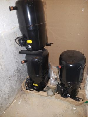 3 ton bristol a/c compressor and 2 new condencer fan motors for Sale in Silver Spring, MD