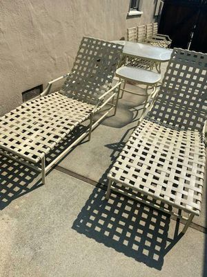 Tropitone full set of outdoor furniture like brand new for Sale in Redwood City, CA