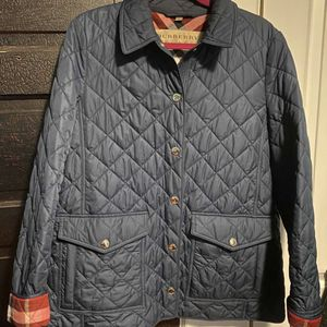 Burberry Diamond Quilted Jacket for Sale in Cinnaminson, NJ