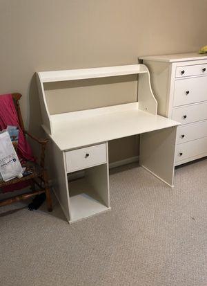 Desk White IKEA for Sale in Olney, MD