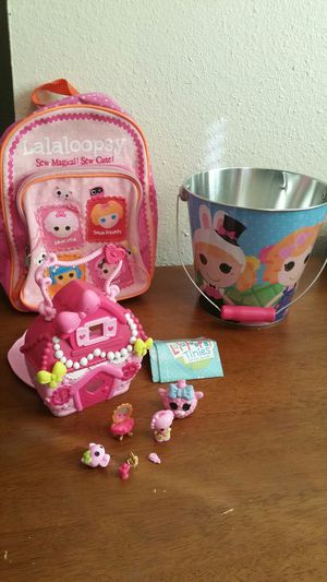 Lalaloopsy Doll Bundle... for Sale in Ceres, CA