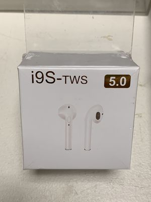 i9s TWS Wireless Bluetooth 5.0 Earbuds airpods Stereo Headset iPhone for Sale in Rochester, NH