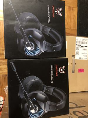 Brand New ONIKUMA Xbox One Gaming Headset, PS4 Headset with 7.1 Surround Sound, Noise Canceling Over-Ear Headphones with Mic, Soft Memory Earmuff for for Sale in Westerville, OH