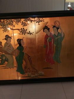 Chinese Antique Painting for Sale in Pompano Beach,  FL